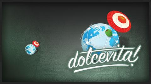 la launcher icon e il logo Dolcevita