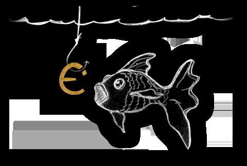 lavorare in silenzio, come un pesce