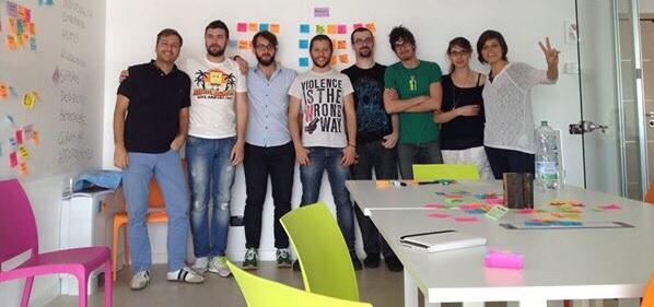 Luca Scarpa, Fabio Fabbrucci, Nicolò Voylpato, Jacopo Romei, Davide Casali, Riccardo Ghignoni, Marianna Cerato ed io